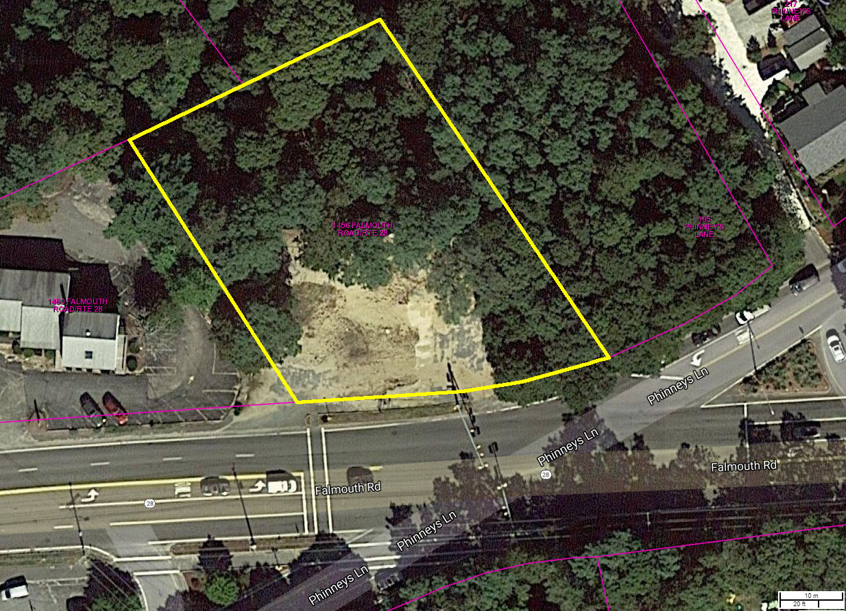 0.65 Acres Highly Visible Commercial Land For Sale in Centerville, Cape Cod