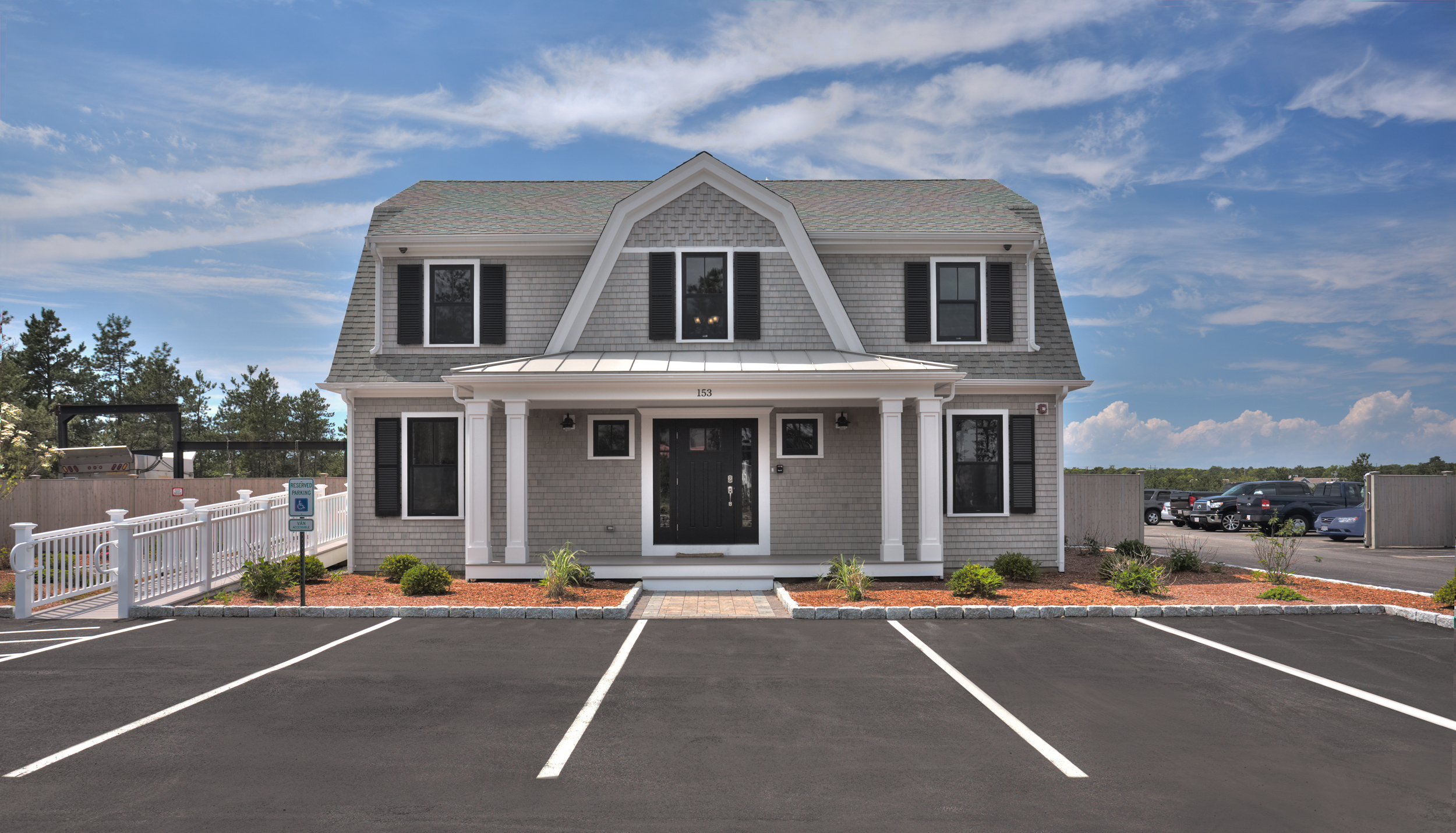 7,000+/- Sq Ft Office/Warehouse Building on 2+/- Acres for Sale in Mashpee, Cape Cod