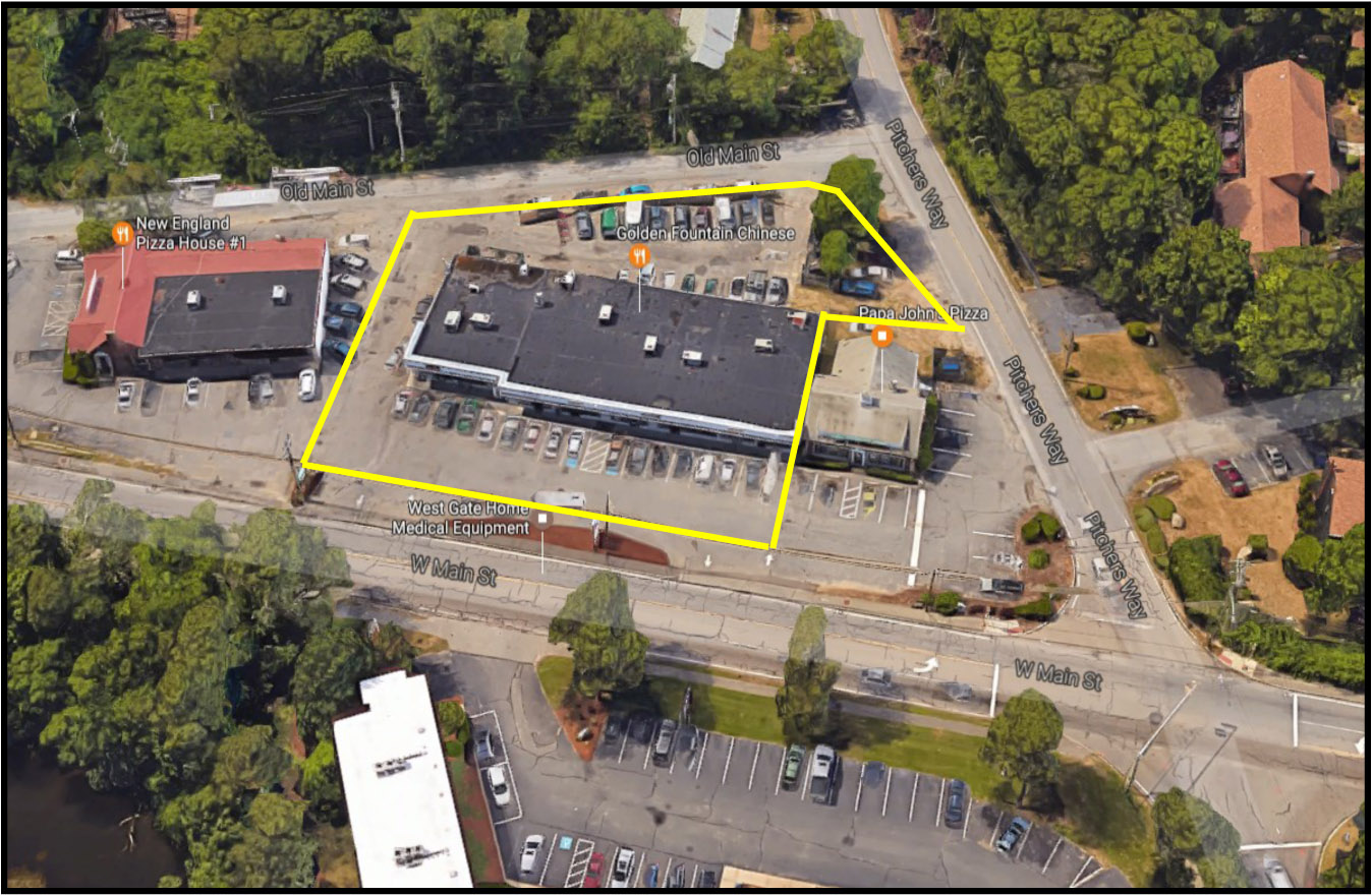 215 West Main St, Hyannis, MA: 9,100+/- Sq. Ft. Investment Property – Retail Strip Property for Sale