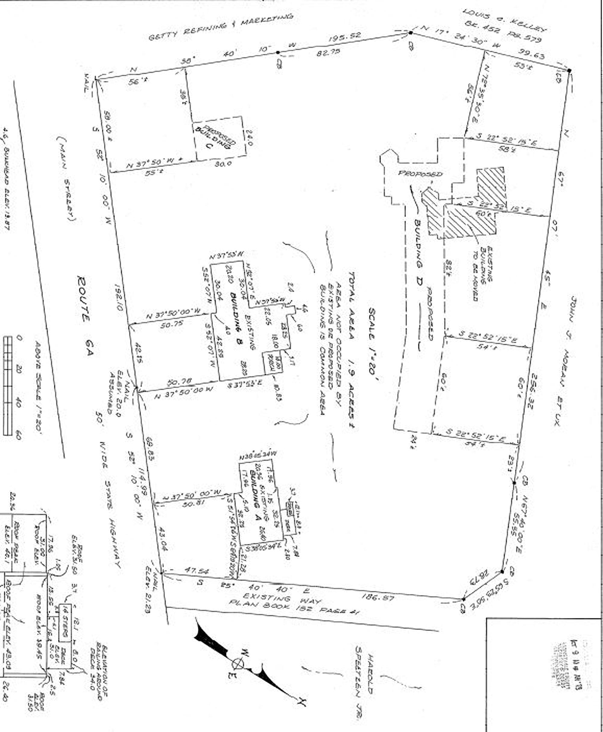 700 Route 6A, Dennis Land Plan