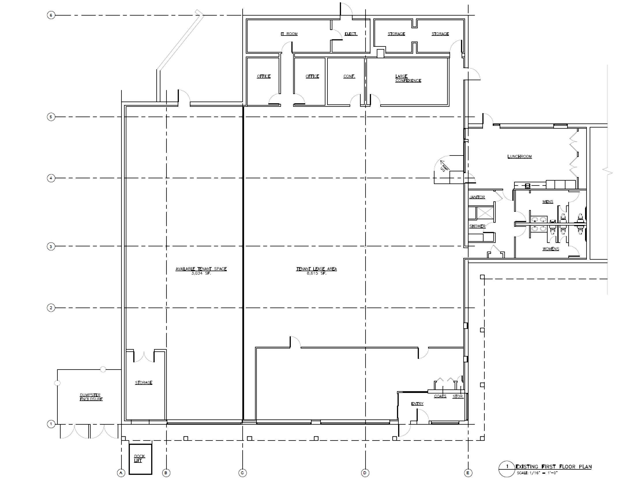 770 Main St, Osterville Building Plan