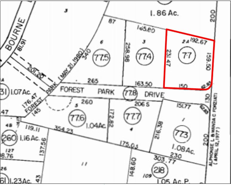 568 MacArthur Blvd, Bourne, MA: 0.93+/- Acres of Commercial Land for Sale