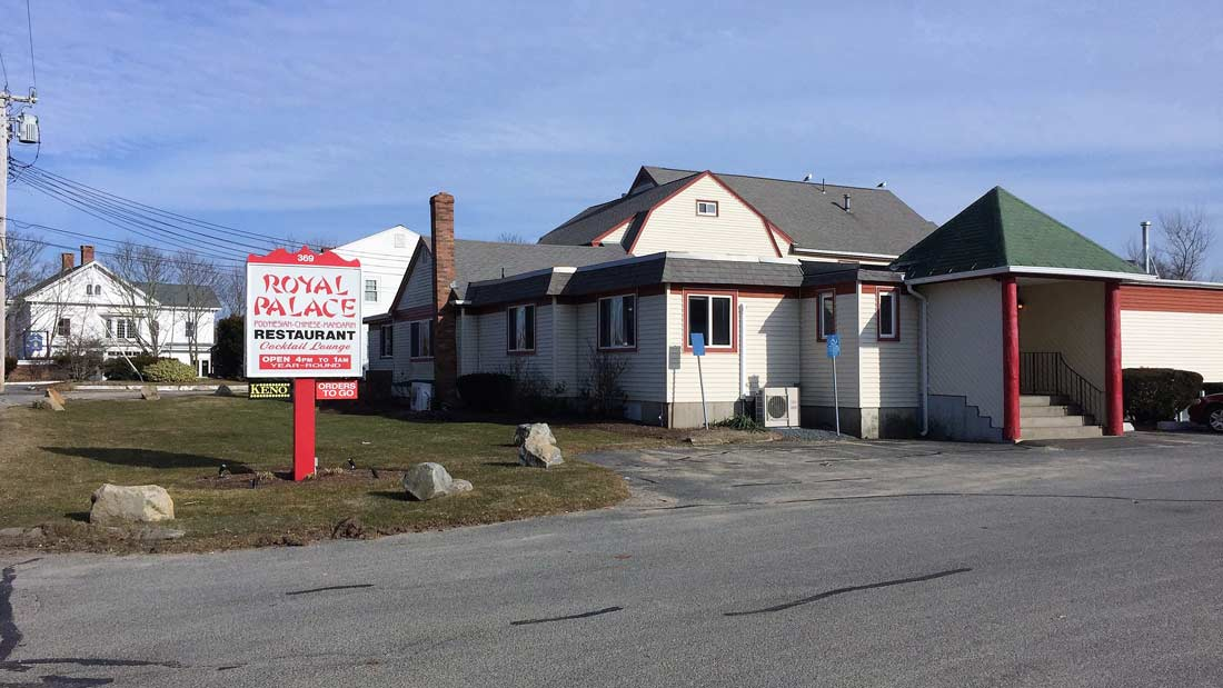 Royal Palace Chinese Restaurant for Sale in West Dennis, Cape Cod