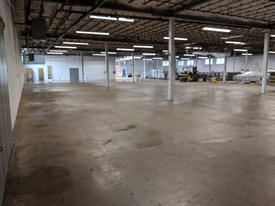 14,000 ± Sq Ft High Ceiling Warehouse Space for Lease in Hyannis, Cape Cod