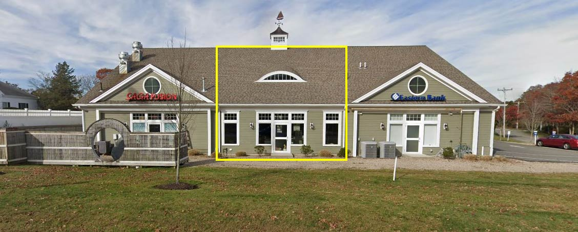 2,100+/- Sq. Ft. Office Retail Space for Lease on Rte 28 in Marstons Mills