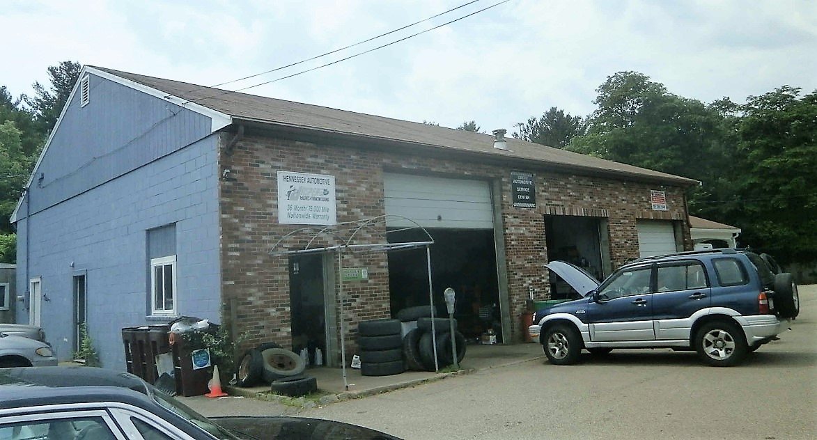High Visibility Commercial Building on 1+/- Acre Land