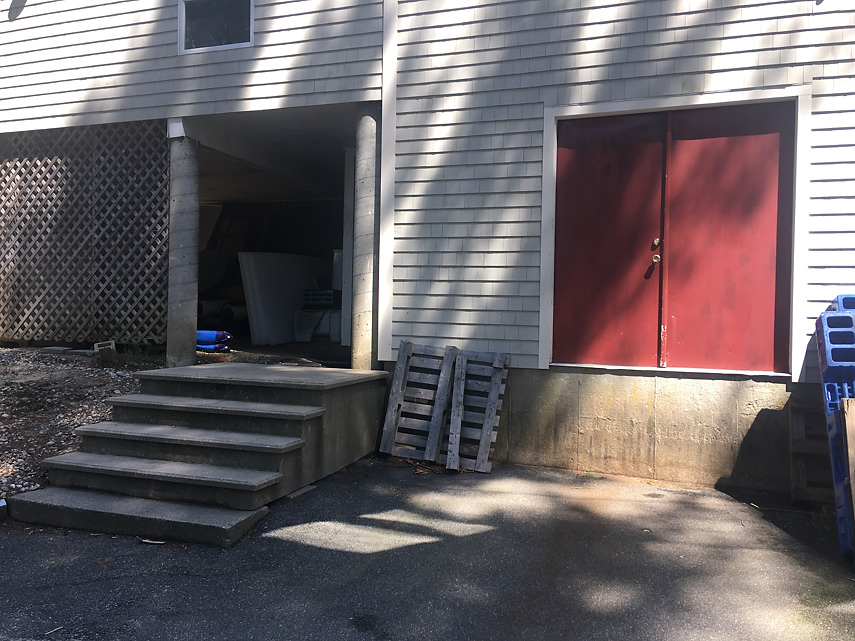 back door loading dock
