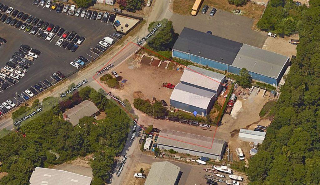 6 Joaquim Road Hyannis Aerial View Closeup