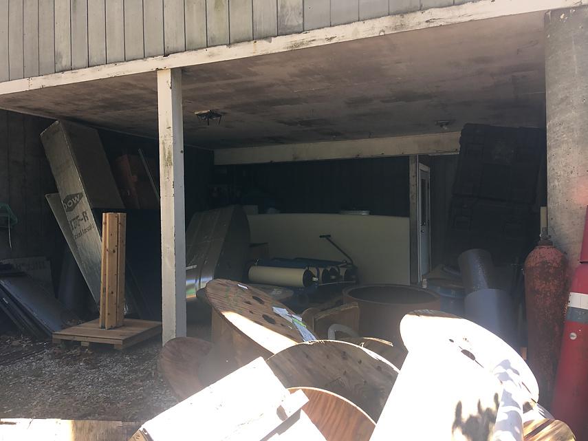 outside storage area
