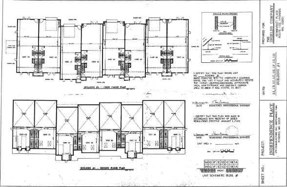 270 Communication Way Building 1 Site Plan
